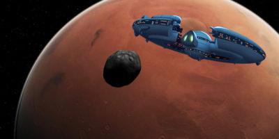 SHOCK CLAIM: Mars moon Phobos is ALIEN base say UFO hunters
