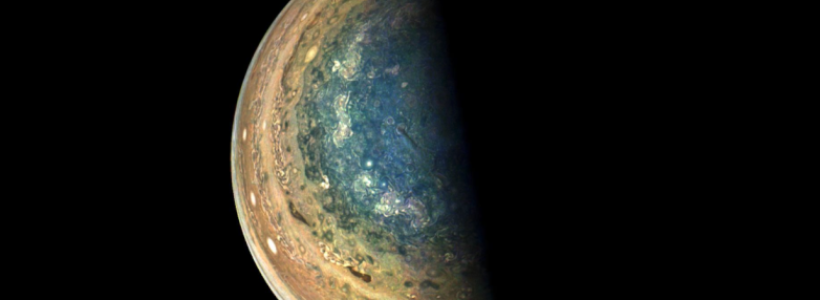 NASA captures Jupiter's south pole as you've never seen it before