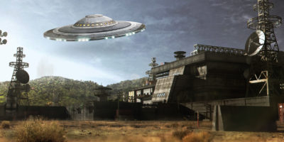 'They're watching the military' Spate of UFO sightings reported near air field base