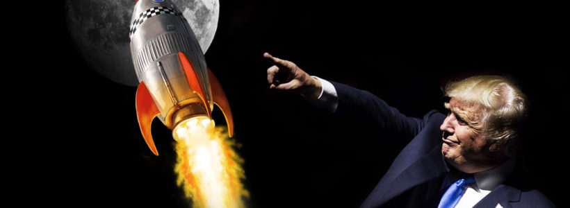'Let's go back to the Moon' Trump to sign order to get humans to the Moon and MARS