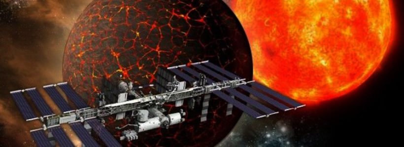 'NIBIRU?' Nasa urged to declare 'Planet X TRUTH' amid claims 'ISS has been evacuated'
