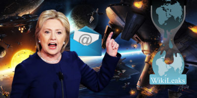 Hillary Clinton leaked e-mails reveal shocking discussions on SPACE WARS, UFOs and ETs