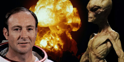 Apollo 14 astronaut claims peace-loving aliens prevented 'nuclear war' on Earth